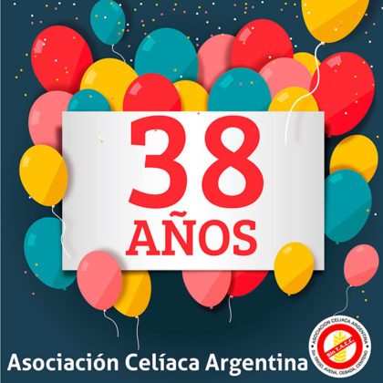 La Asociación Celíaca Argentina cumple 38 años