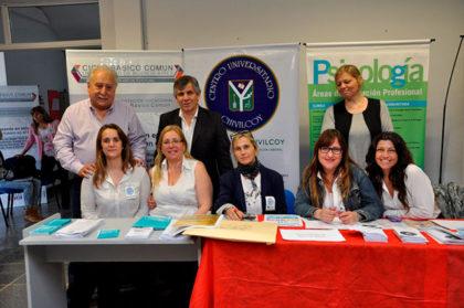 Britos participó de la Expo Vocacional Ocupacional