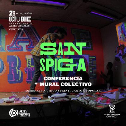 El Artista Gráfico San Spiga estará en Chivilcoy