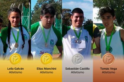Chivilcoy obtiene 4 medallas y pisa fuerte en los Juegos Bonaerenses