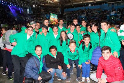 Chivilcoy presente en la ceremonia de apertura de los Juegos Bonaerenses