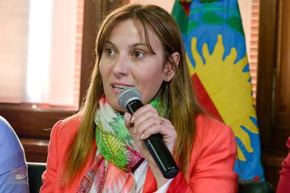 """Ley de Paridad. Valeria Arata: """"Hoy logramos que las mujeres tengan una representación política justa"""""""
