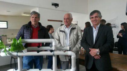 Se presentó el Sistema de Hidroponía en el CIC Fonavi