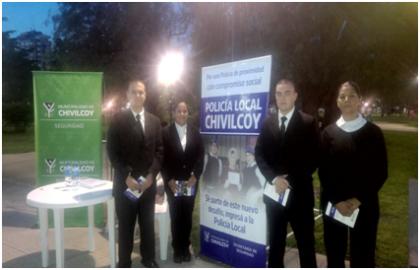 Secretaría de Seguridad: Inscripción Policía Local | Stand fin de semana