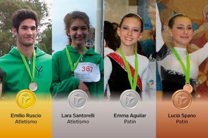 Otra jornada de 4 medallas para Chivilcoy en los Juegos Bonaerenses