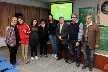 Reconocimiento a la delegación chivilcoyana de los Juegos Bonaerenses 2016