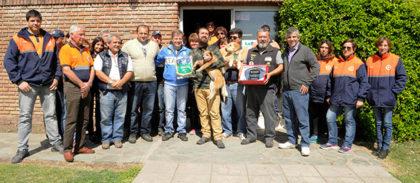 Se capacitó a personal de Defensa Civil y policía para búsqueda de personas y drogas con caninos