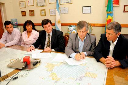 Se firmó un convenio de colaboración con el Colegio de Abogados de Mercedes