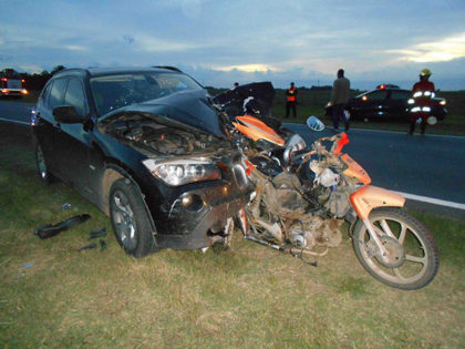 [Esta madrugada] Accidente fatal en la Ruta 5 a la altura de Suipacha