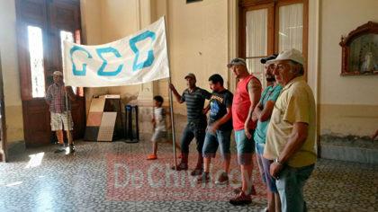Corriente Clasista y Combativa Reclama al Municipio la implementación de planes sociales