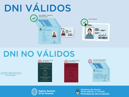 A partir de noviembre el DNI digital será el único válido para viajar a países de Sudamérica