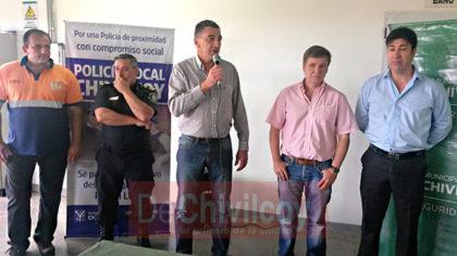 Policía Local: La primera promoción estará a cargo del Comisario Mayor Néstor Dabi