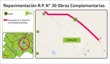 El Gobierno provincial licitó obras viales para las Rutas Provinciales 30 y 215