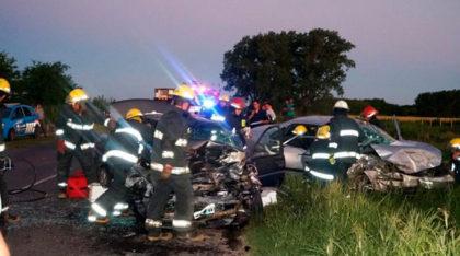 Grave accidente en Ruta 30 con varios heridos
