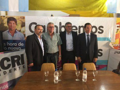 El Ministro de Trabajo de la Provincia de Buenos Aires visitó el local de Cambiemos