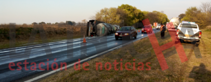 Accidente de tránsito en la Ruta 30