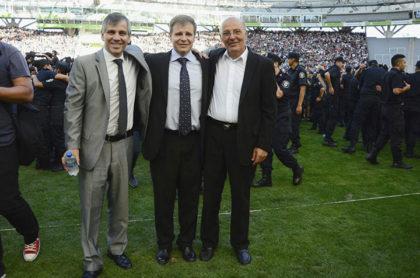 Ceremonia de egreso de ocho mil Policías en el estadio Ciudad de La Plata