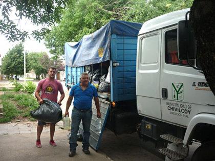 Inundados: Donaciones de vecinos de nuestra ciudad llegaron a Pergamino