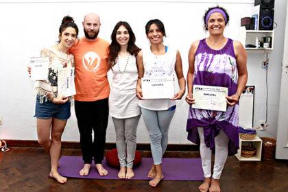 Egresados 2016 de Ayur Yoga Vital Chivilcoy