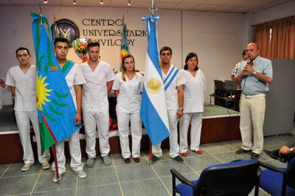 Egresaron nuevos Enfermeros Profesionales en el Centro Universitario Chivilcoy