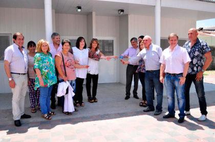 Inauguración de dos nuevas aulas en la Escuela Primaria N° 3