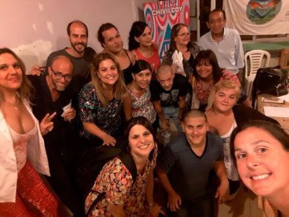 Profesionales de distintos puntos del país visitaron el Consultorio Amigable