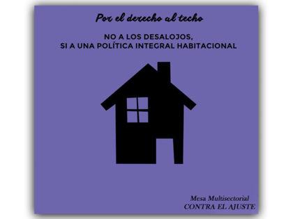 Mesa Multisectorial contra el Ajuste: Pedido de información por ocupación de viviendas