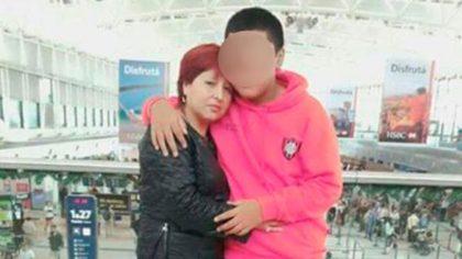 Migraciones pidió expulsar del país a la madre del asesino de Brian