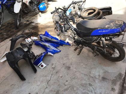Recuperan una motocicleta que había sido sustraída
