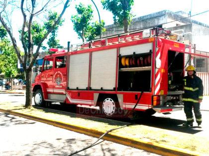 Se inició una causa por daños por el incendio total de un vehículo