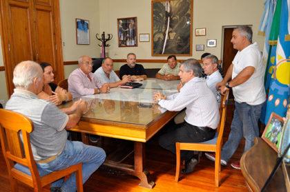 El Intendente se reunió con los delegados rurales