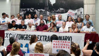 Los gremios docentes rompieron el diálogo en medio de las negociaciones y anunciaron un paro nacional