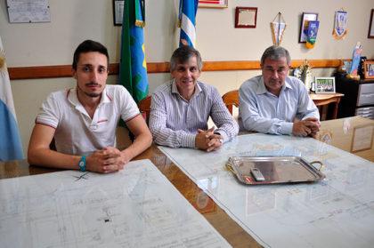 El Intendente recibió a Luca Sessarego