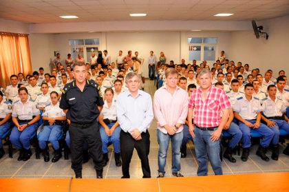 Se presentaron a los nuevos Oficiales de la Policía de Prevención Local