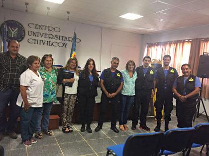 Evec Socorrismo hizo la presentación de los cursos que se dictarán en Chivilcoy