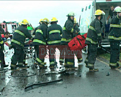 [VIDEO] Accidente Ruta 30: Informe del jefe de Bomberos Esteban Genaro y parte policial
