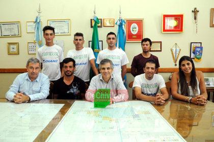 El Intendente recibió en su despacho al chivilcoyano ganador de la 82° edición de la Doble Bragado