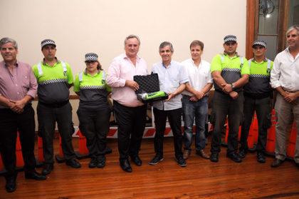 El intendente recibió al Ministro de Gobierno, Joaquín de la Torre