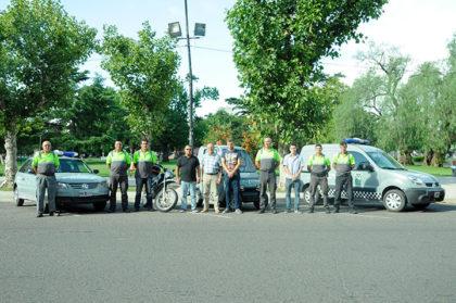 Tránsito: Vehículos refaccionados vuelven a ponerse en funcionamiento