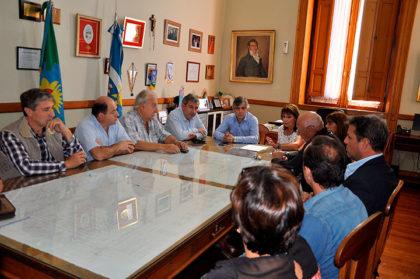 El Intendente recibió a la Agencia de Desarrollo Chivilcoy