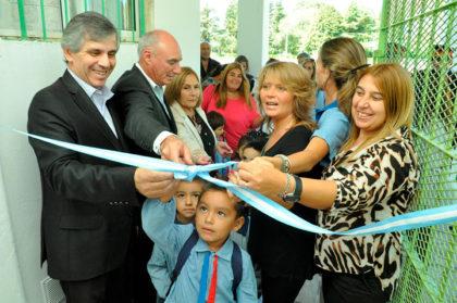 El intendente inauguró el SUM del Jardín 913