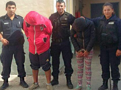 [VIDEO] Dos personas que tenían gran cantidad de droga en su poder fueron detenidas por robar en una obra en construcción