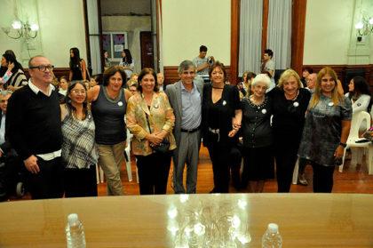 Reconocimiento a tres chivilcoyanas en el acto por el Día de la Mujer