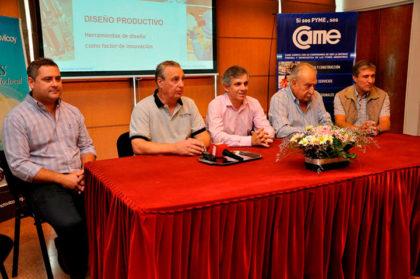 Britos participó de la presentación de un curso de Diseño Industrial Productivo