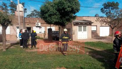 Ayer, cerca de las 10.20, principio de incendio en una vivienda