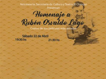 Ciclo de cine | Homenaje a Rubén Lago