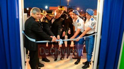 [VIDEO] Quedó inaugurada la Unidad de la Policía de Prevención Local