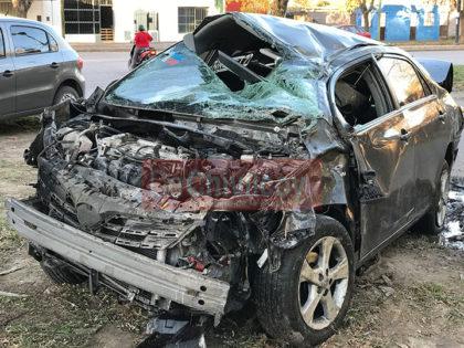 Vuelco en la Ruta 30: Una persona resultó con heridas