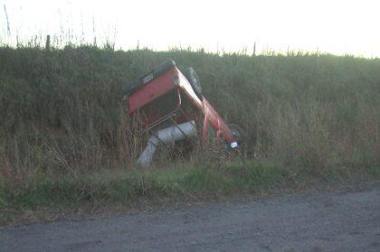 Cuatro Chivilcoyanos protagonizaron un accidente en el partido de Alberti