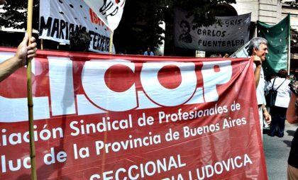 """CICOP Provincia: """"La Salud, en los últimos peldaños de la agenda de Gobierno"""""""